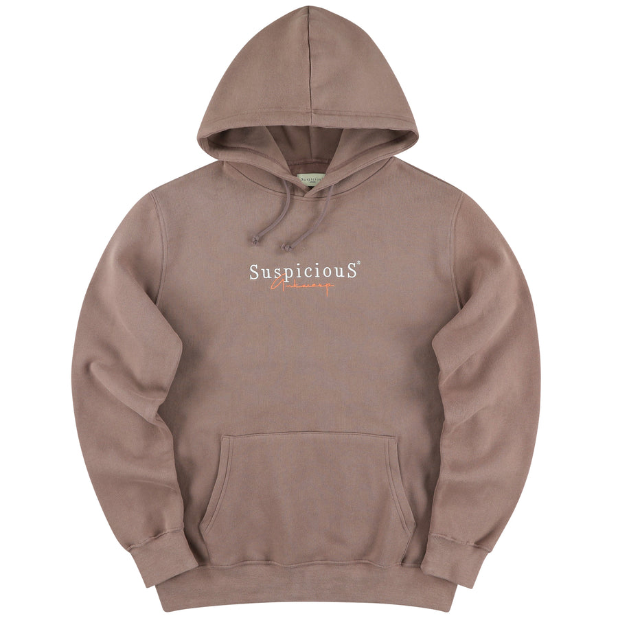 The Vintage Hoodie - Clay // Peach