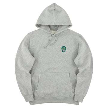 The Classic Hoodie - Grey // Green