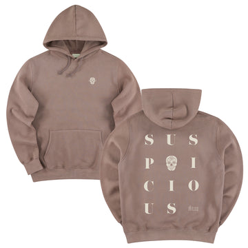 The Playground Hoodie - Clay // Off-White