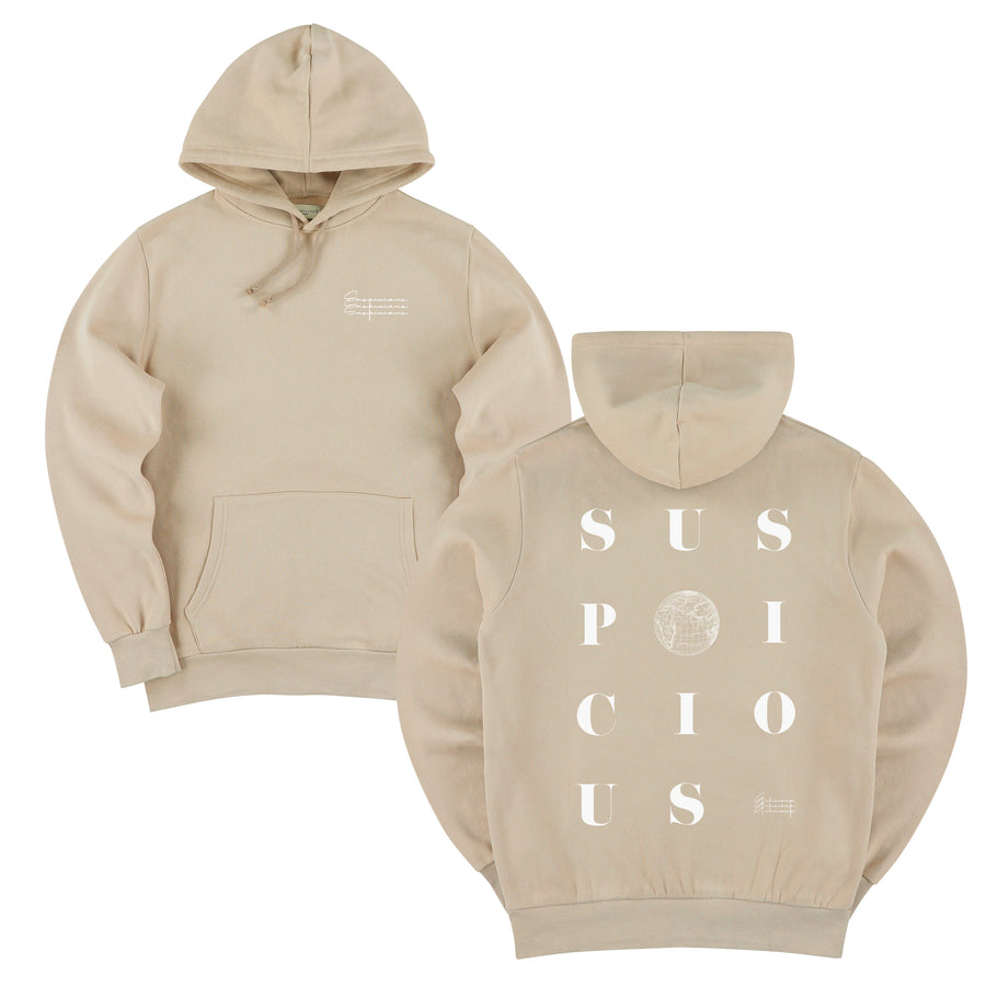 The Playground II Hoodie - Dune // White