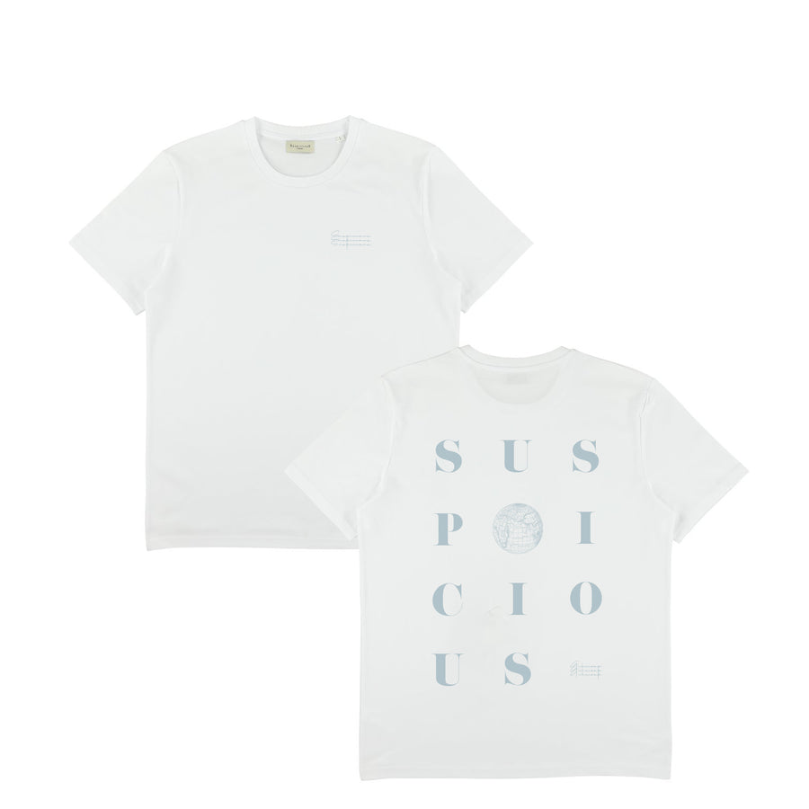 The Playground II Shirt - White // Rain
