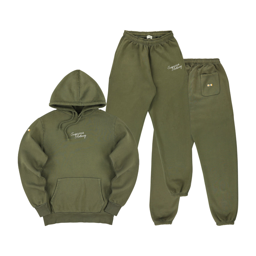 The Navigator Tracksuit - Army