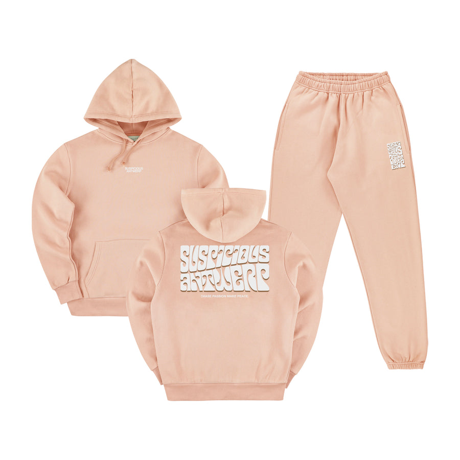 The Peacekeeper Tracksuit - Salmon
