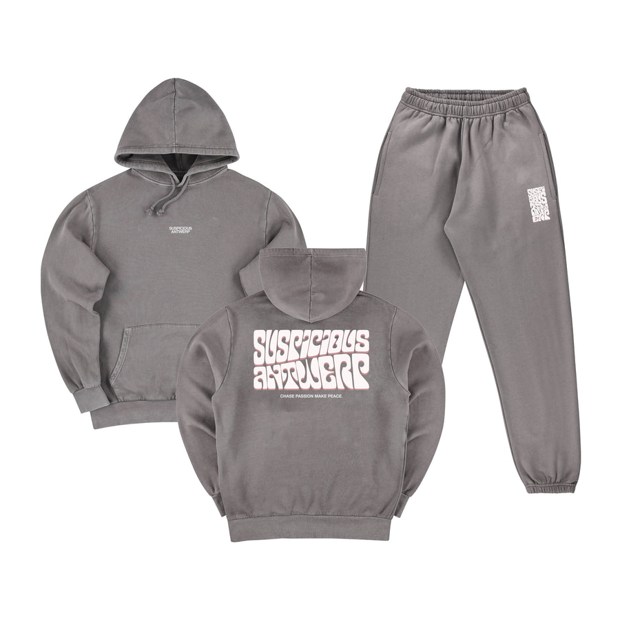 The Peacekeeper Tracksuit - Stone