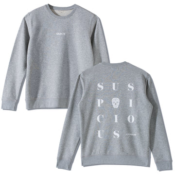 The Playground Sweater - Grey // White