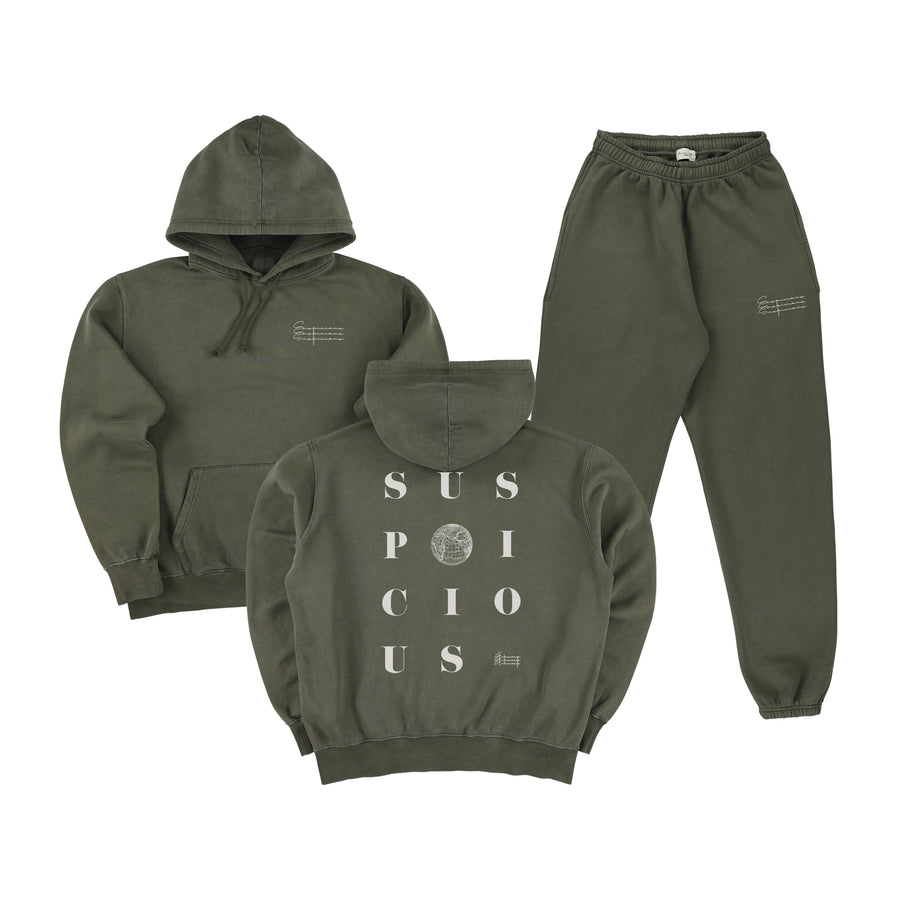 The Playground Tracksuit - Army