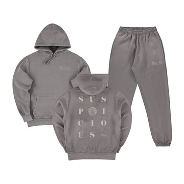 The Playground Tracksuit - Stone