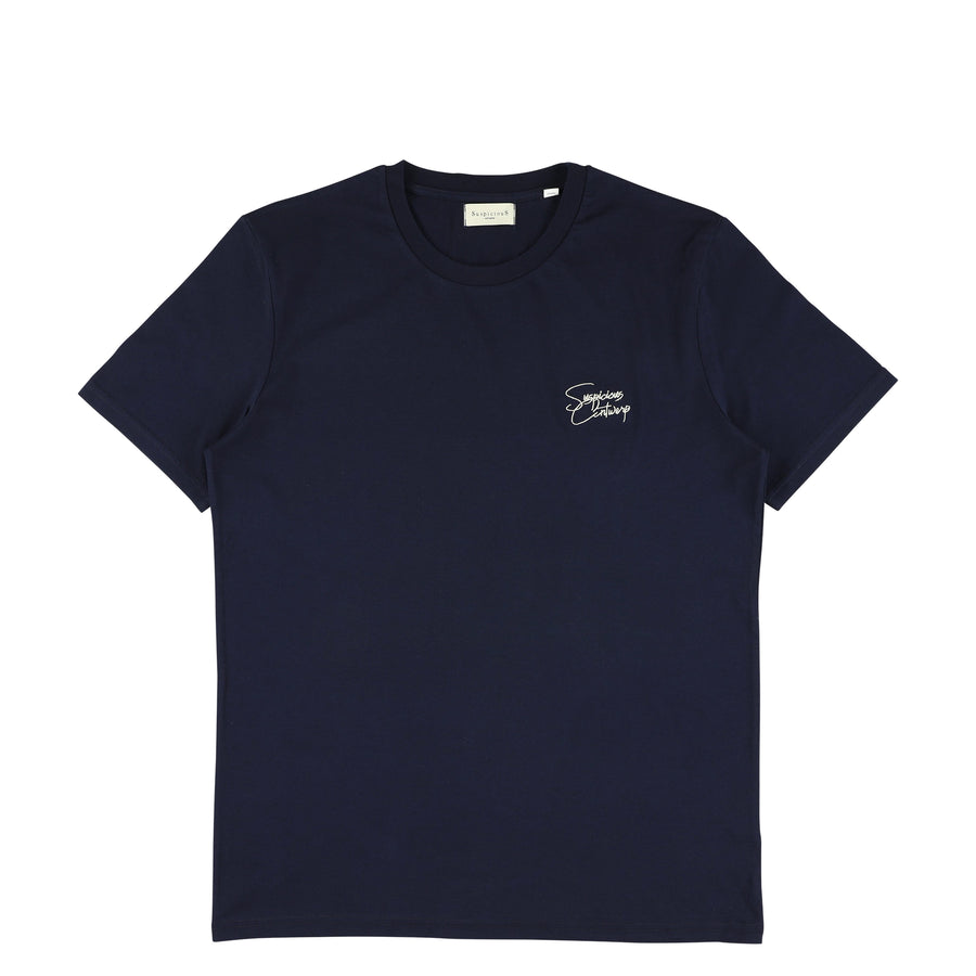 The Roots Shirt - Navy // Off-White