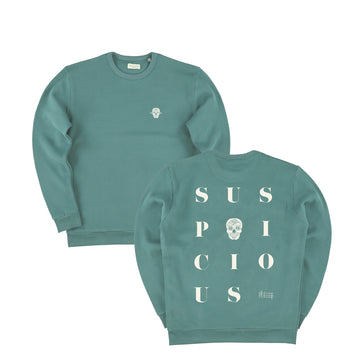 The Playground Sweater - Seaweed // Off-White