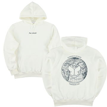 Suspicious x Tomorrowland Hoodie - Off-White // Navy