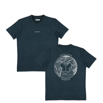 Suspicious x Tomorrowland Shirt - Navy // Off-White