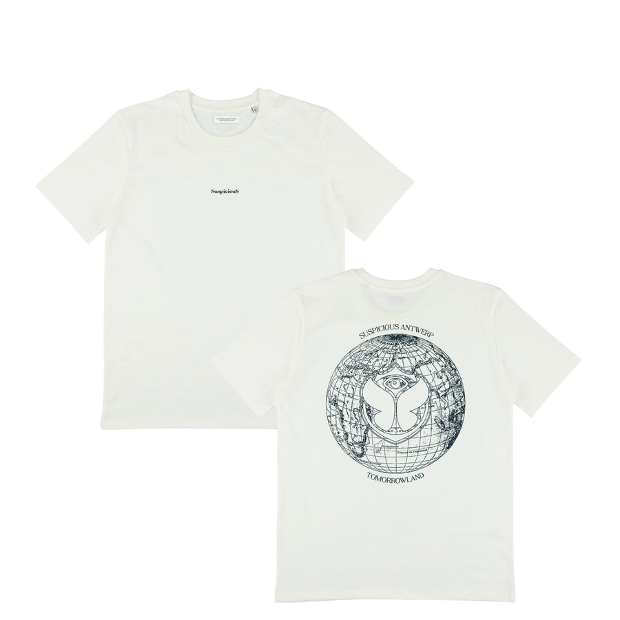 Suspicious x Tomorrowland Shirt - Off-White // Navy