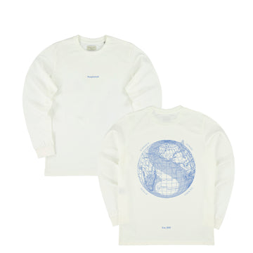 The Voyager Longsleeve - Off-White // Powder