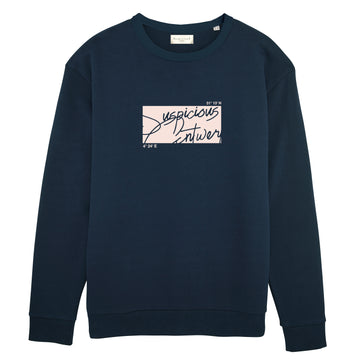 The Roots Sweater - Navy // Pink