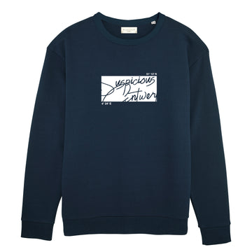 The Roots Sweater - Navy // White
