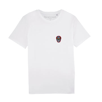 The Classic Shirt - White // Red