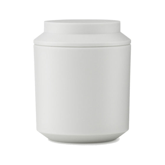 Geo Jar with Lid - Frost