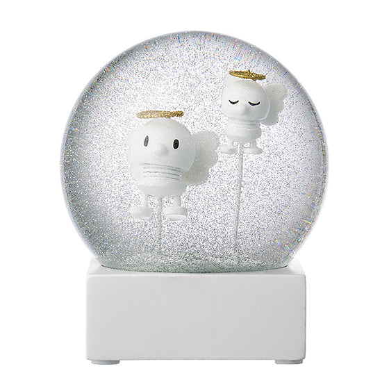 Angel Snow Globe - by Hoptimist