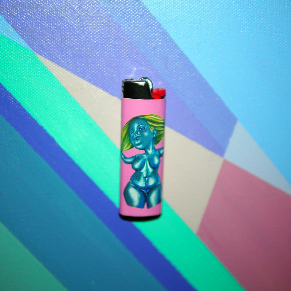 Holier Than Thou - Set of 4 Art Lighters