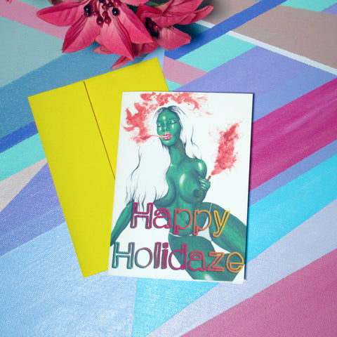 Happy Holidaze - Greeting Card