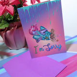 I'm Sorry - greeting card