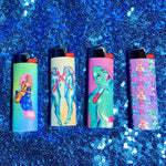 Mine Forever - Set of 4 Art Lighters