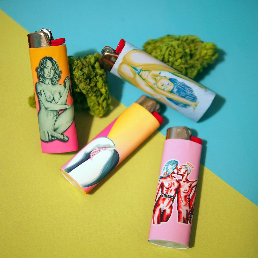 Parts of You - Set of 4 Art Lighters