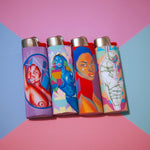 Uncurbed - Set of 4 Art Lighters