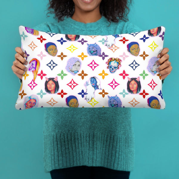 """Ho Couture"" Pillow"