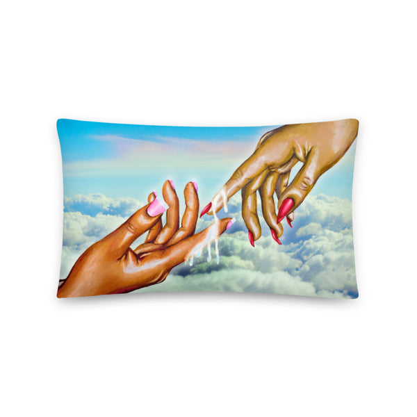 """The Gift of Life"" Pillow"