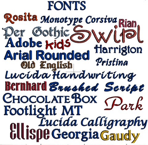 Fonts, Formats, Thread – The Cherry Stitch