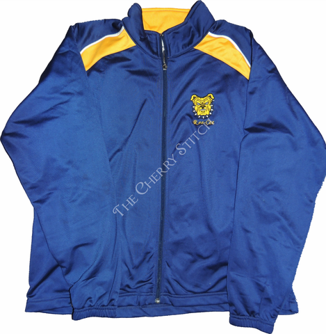 Embroidered NC A&T Brushed Tricot Jacket