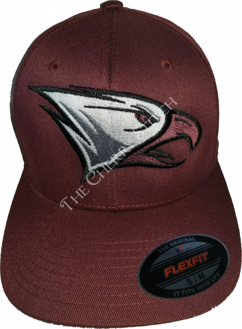 Embroidered NCCU Wooly 6-Panel Cap