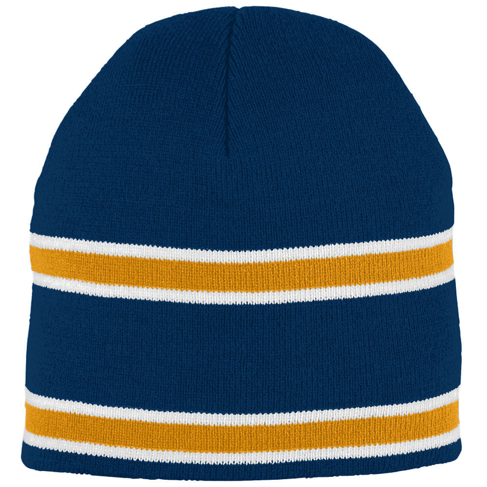 NC A&T KNIT STRIPED BEANIE