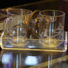 Plexi Tray & Two Mugs 3 pcs