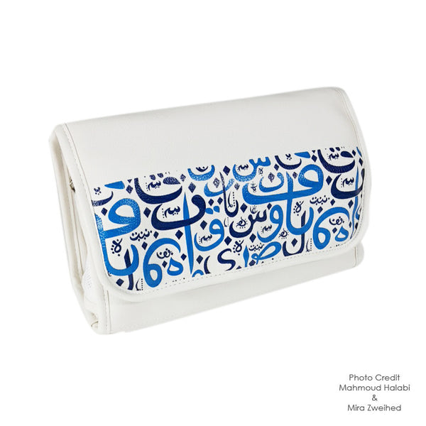 Calligraphy Toiletry Pouch
