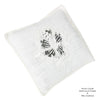 Embroidered Lavender Pillow Case-Pack of 2