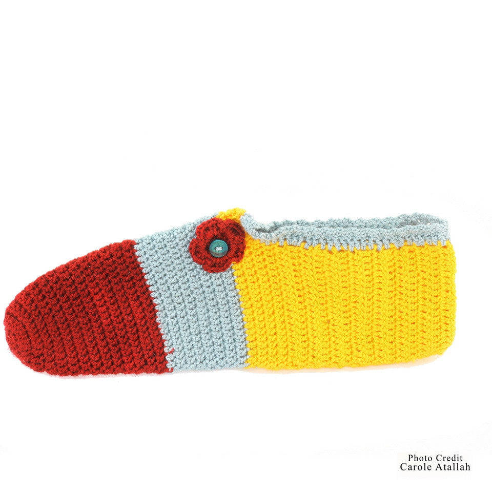 Pelican Knitted Striped Socks