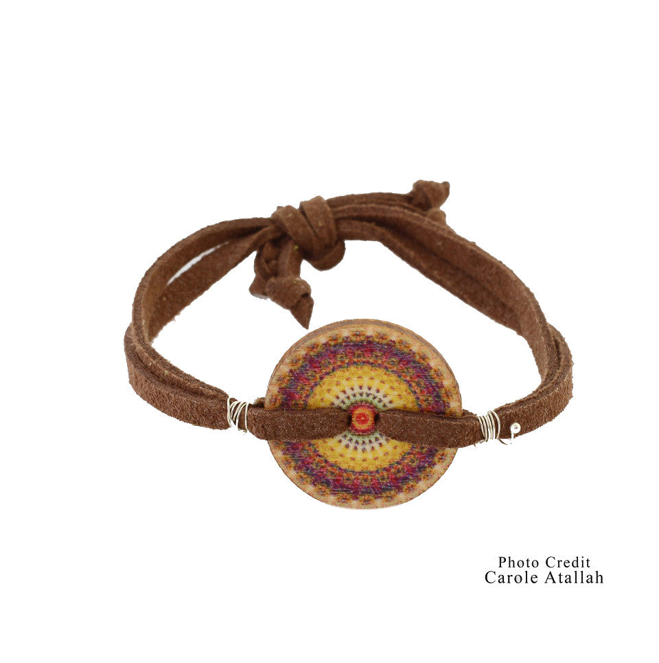 Ethnic Bracelet - Brown