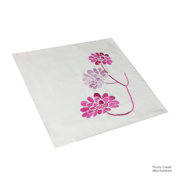 Pink Flowers Design - Pillow Case