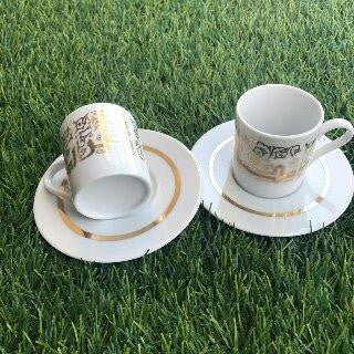 Ramadan Karim Porcelain Coffee Cups 6 pcs
