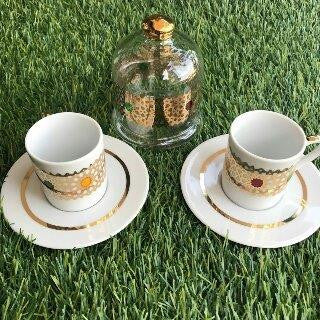 Coffee Cups Arabesk +Bonboniere 7 pcs
