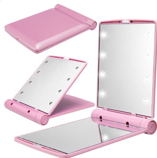 PORTABLE LED LIGHT MIRROR