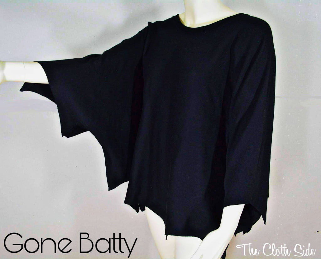Halloween DIY: Gone Batty Top