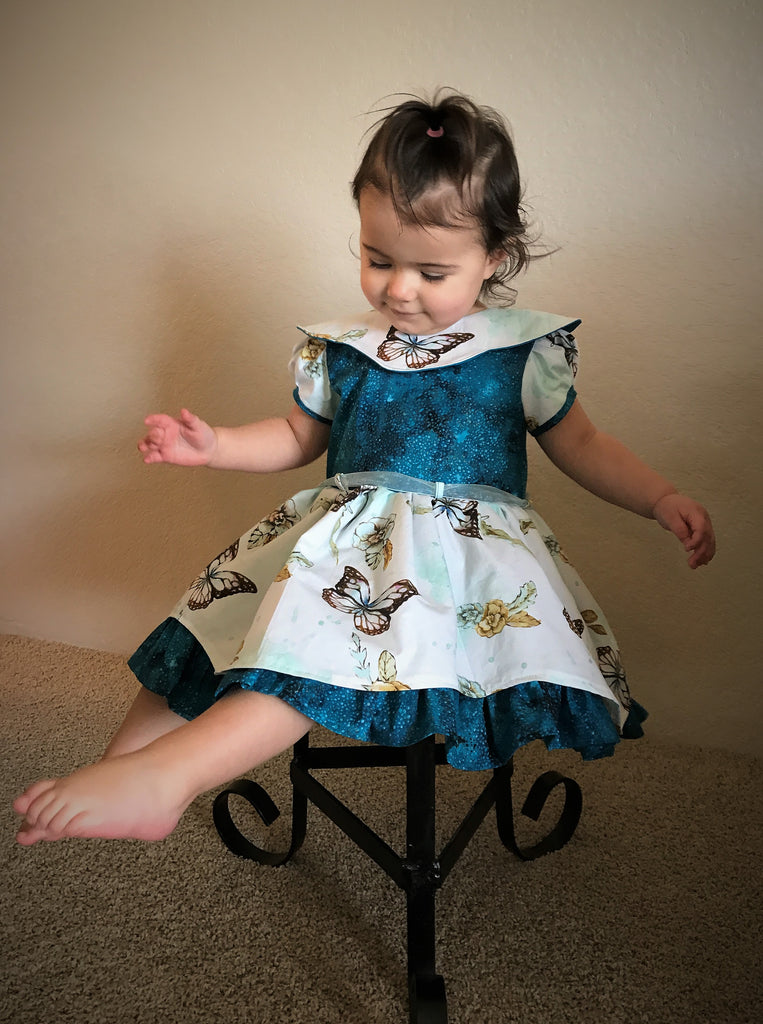 Butterflies and Handmaidens ~Easter Dress blog tour hosted by Seams Sew Lo