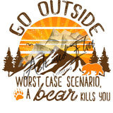 Go Outside, Bear Panel