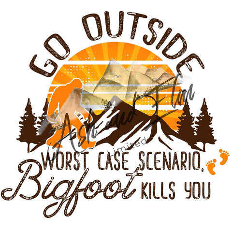 Go Outside, Bigfoot Panel