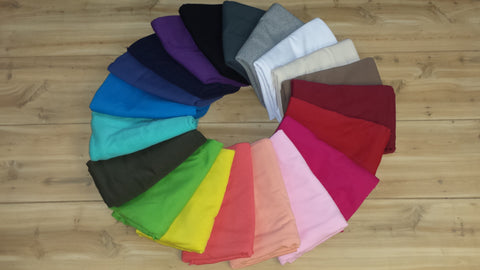 Cotton Lycra Solids