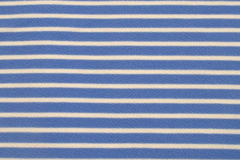 Light Blue Liverpool Stripes