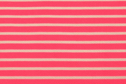 Hot Pink Liverpool Stripes
